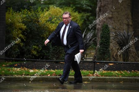 The pro-Brexit European Research Group (ERG) lawmaker Mark Francois arrives at 10 Downing Street in London, . There are just 10-days until the U.K. is due to leave the European bloc on Oct. 31