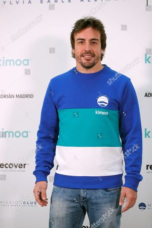 Editorial picture of Spanish driver Fernando Alonso presents the project 'Mission Blue x Kimoa', Madrid, Spain - 21 Oct 2019