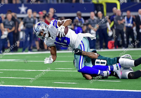 Editorial image of NFL Football Eagles vs Cowboys, Arlington, USA - 20 Oct 2019