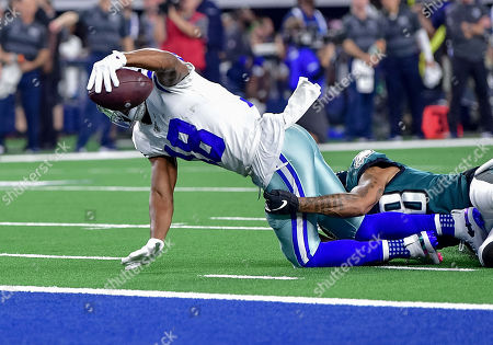 Editorial picture of NFL Football Eagles vs Cowboys, Arlington, USA - 20 Oct 2019