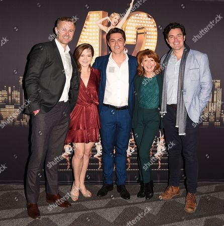 Tom Lister, Clare Halse, Philip Bertioli, Bonnie Langford and Matthew Goodgame