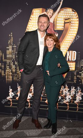 Tom Lister and Bonnie Langford