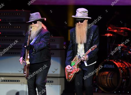 Editorial image of ZZ Top in concert at the Coral Sky Amphitheatre, West Palm Beach, USA - 20 Oct 2019