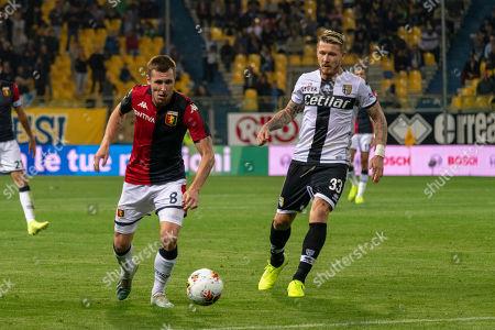 Lukas Reiff Lerager (Genoa) Juraj Kucka (Parma)