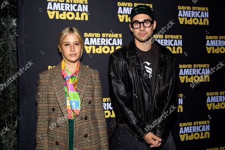 Editorial image of 'American Utopia' play, Broadway Opening Night, New York - 20 Oct 2019