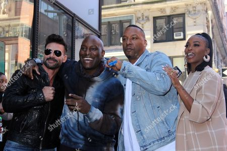 Frank Grillo, Tyrese Gibson, Deon Taylor and Nafessa Williams