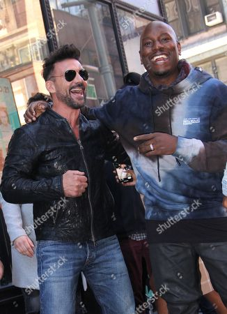 Frank Grillo and Tyrese Gibson