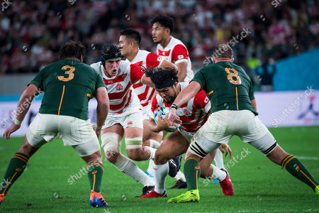 Editorial picture of Japan v South Africa, Rugby World Cup Quarter-finals, Ajinomoto Stadium, Tokyo, Japan - 20 Oct 2019