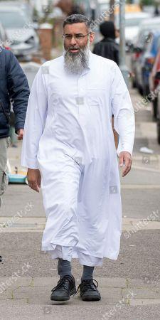Editorial image of Anjem Choudary, London, UK - 07 Jun 2019