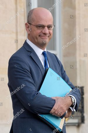 French Education and Youth Affairs Minister Jean-Michel Blanquer