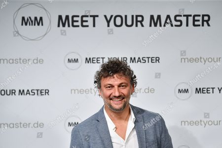 German opera singer Jonas Kaufmann attends a photocall for the new online education and entertainment platform 'Meet Your Master' in Munich, Germany, 21 October 2019.