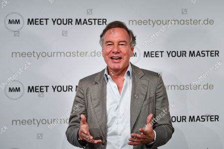 Nico Hofmann attends a photocall for the new online education and entertainment platform 'Meet Your Master' in Munich, Germany, 21 October 2019.