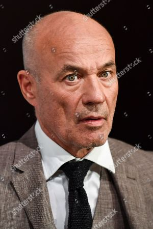 Heiner Lauterbach attends a photocall for the new online education and entertainment platform 'Meet Your Master' in Munich, Germany, 21 October 2019.