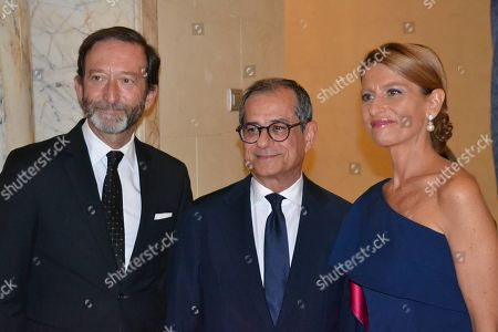 Editorial image of Villa Almone party for national holiday of Germany, Rome, Italy - 03 Oct 2019