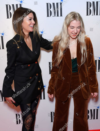 Stock Picture of Sara MacDonald and Anais Gallagher