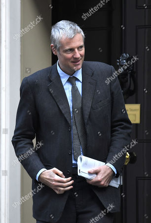 Stock Photo of Zac Goldsmith during a cabinet meeting in Downing Street