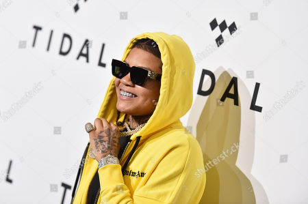 Editorial photo of TIDAL X Rock The Vote 5th Annual Benefit Concert, Arrivals, Barclays Center, Brooklyn, New York, USA - 21 Oct 2019