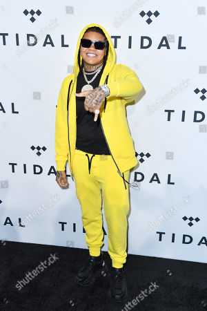 Stock Image of Young M.A