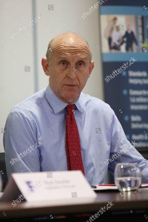 Stock Photo of Rt Hon John Healey MP, Secretary of State for housing