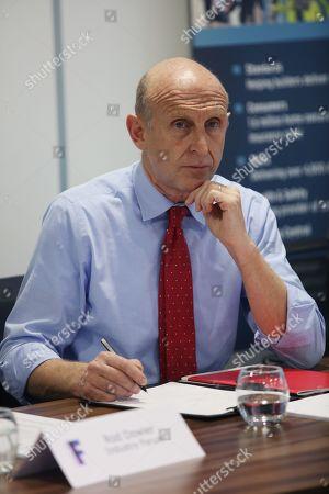 Stock Image of Rt Hon John Healey MP, Secretary of State for housing
