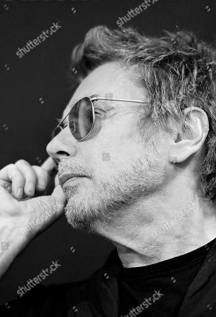 Editorial photo of Jean-Michel Jarre photoshoot, Lille, France - 17 Oct 2019