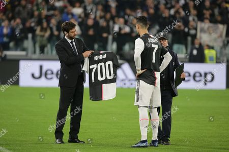 Editorial picture of Juventus v Bologna, Italian Serie A football match, Turin, Italy - 19 Oct 2019