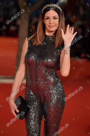Alessia Fabiani arrives for the screening of 'The Irishman' at the 14th annual Rome Film Festival, in Rome, Italy, 21 October 2019. The film festival runs from 17 to 27 October 2019.