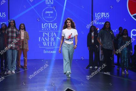 Editorial picture of Pepsi X Huemn show, Runway, India Fashion Week, New Delhi - 10 Oct 2019