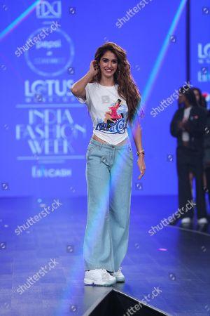 Editorial image of Pepsi X Huemn show, Runway, India Fashion Week, New Delhi - 10 Oct 2019