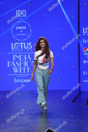 Disha Patani on the catwalk