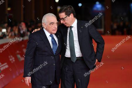 Martin Scorsese and Antonio Monda