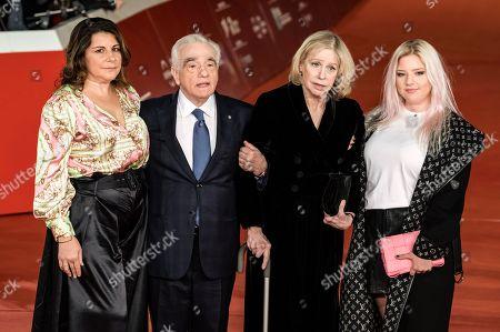 Cathy Scorsese, Martin Scorsese, Helen Morris and Francesca Scorsese