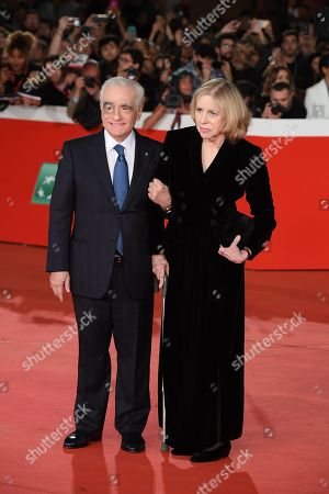 Stock Picture of Martin Scorsese with his wife Helen Morris