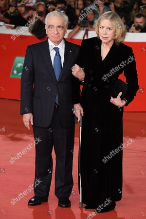 Stock Image of Martin Scorsese with his wife Helen Morris