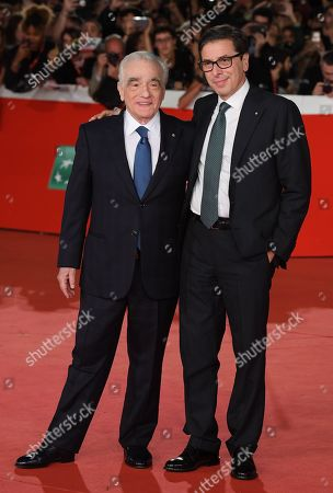 Martin Scorsese with Antonio Monda