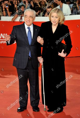 Martin Scorsese with his wife Helen Morris