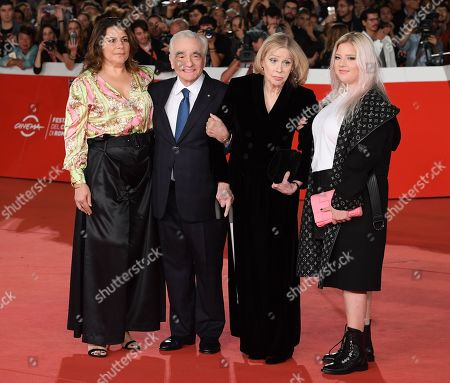 Editorial picture of 'The Irishman' premiere, Rome Film Festival, Italy - 21 Oct 2019