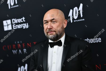Editorial image of 'The Current War' film premiere, Arrivals, AMC Lincoln Square 13, New York, USA - 21 Oct 2019