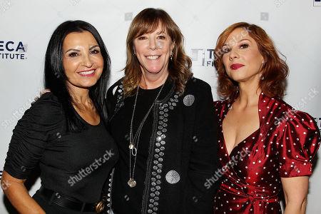 Kathrine Narducci, Jane Rosenthal and Stephanie Kurtzuba Â