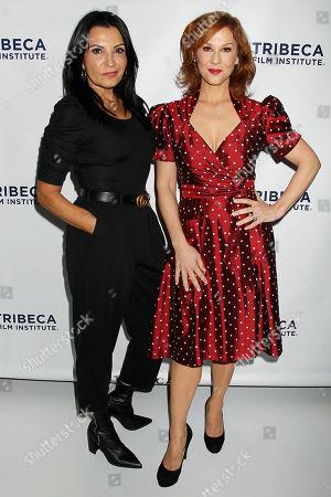 Kathrine Narducci and Stephanie Kurtzuba