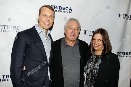 Stock Picture of David Earls, Robert De Niro, Amy Hobby