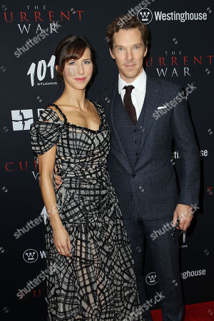 Stock Photo of Benedict Cumberbatch, Sophie Hunter