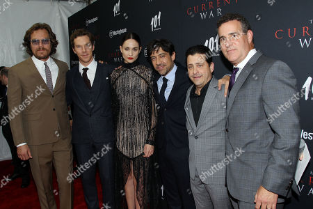 Stock Photo of Michael Shannon, Benedict Cumberbatch, Tuppence Middleton, Alfonso Gomez-Rejon, David Glasser, David Hutkin