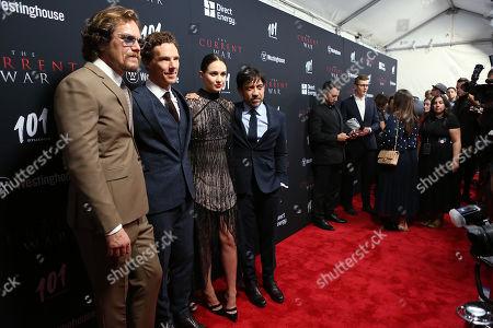 Michael Shannon, Benedict Cumberbatch, Tuppence Middleton, Alfonso Gomez-Rejon