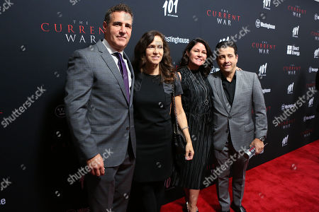 Editorial image of New York Premiere of 'The Current War', USA - 21 Oct 2019