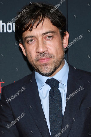 """Alfonso Gomez-Rejon attends the premiere for NY Premiere of """"The Current War: Director's Cut"""" at AMC Lincoln Square, in New York"""