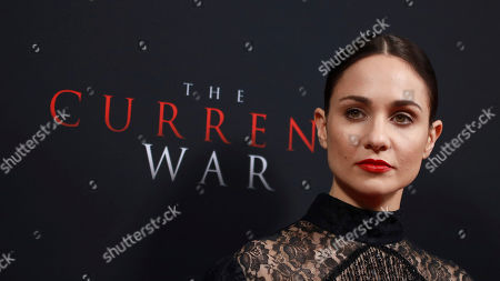 """Tuppence Middleton attends the premiere for NY Premiere of """"The Current War: Director's Cut"""" at AMC Lincoln Square, in New York"""