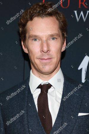 "Benedict Cumberbatch attends the premiere for NY Premiere of ""The Current War: Director's Cut"" at AMC Lincoln Square, in New York"
