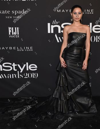 Alexa Demie arrives at the 5th annual InStyle Awards, at the Getty Center in Los Angeles