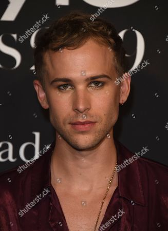 Tommy Dorfman arrives at the 5th annual InStyle Awards, at the Getty Center in Los Angeles